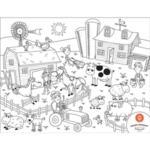 Силиконова подложка Colour & Draw placeMAT