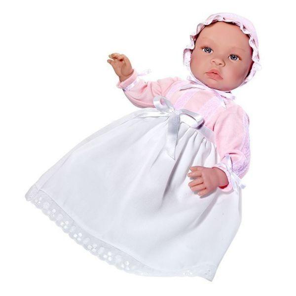 Кукла - бебе Лея с дълга рокля