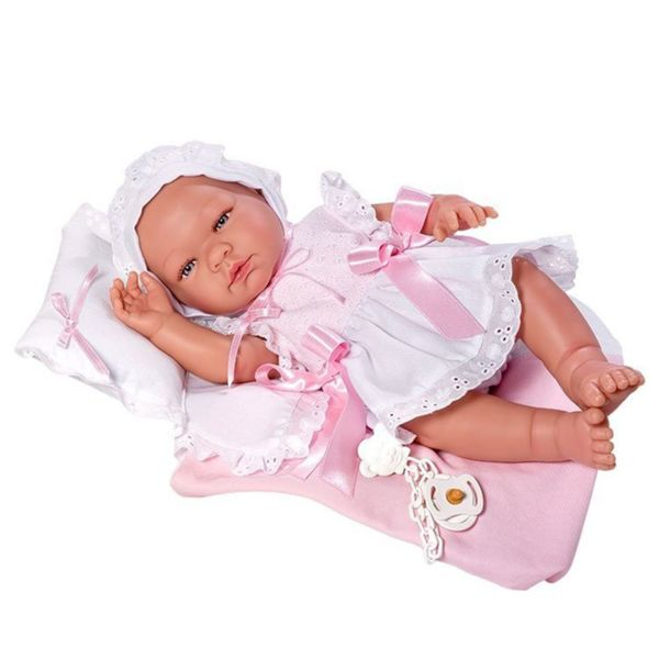 Кукла - бебе Мария с възглавница
