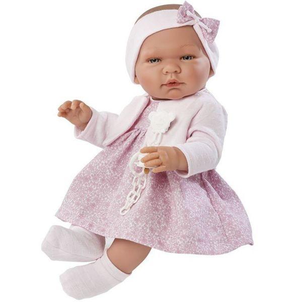 Кукла - бебе Мария с розова жилетка