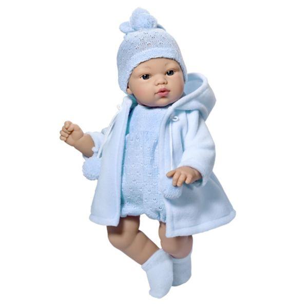 Кукла - бебе Коке синьо палто