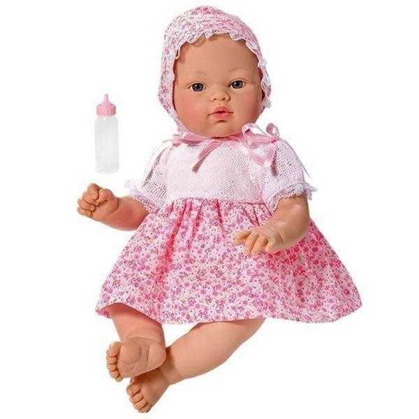 Кукла - бебе Коке с рокля на цветя