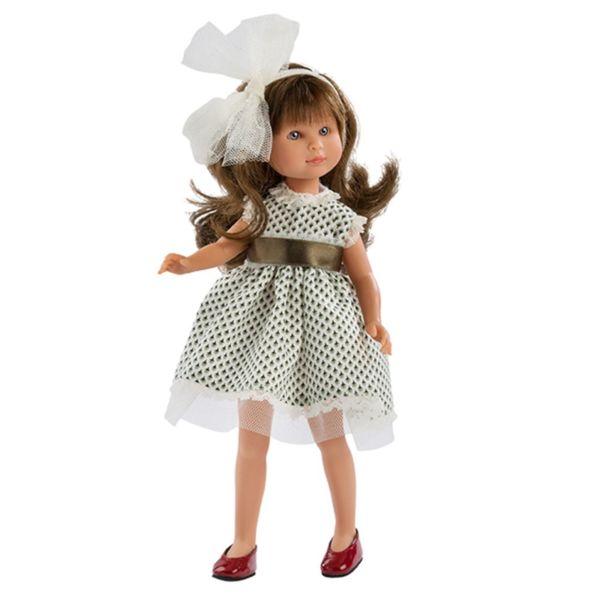 Кукла Силия с голяма панделка
