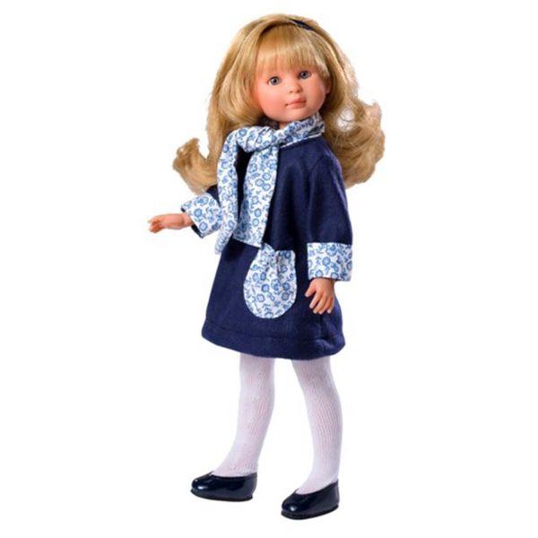 Кукла Силия със синя рокля