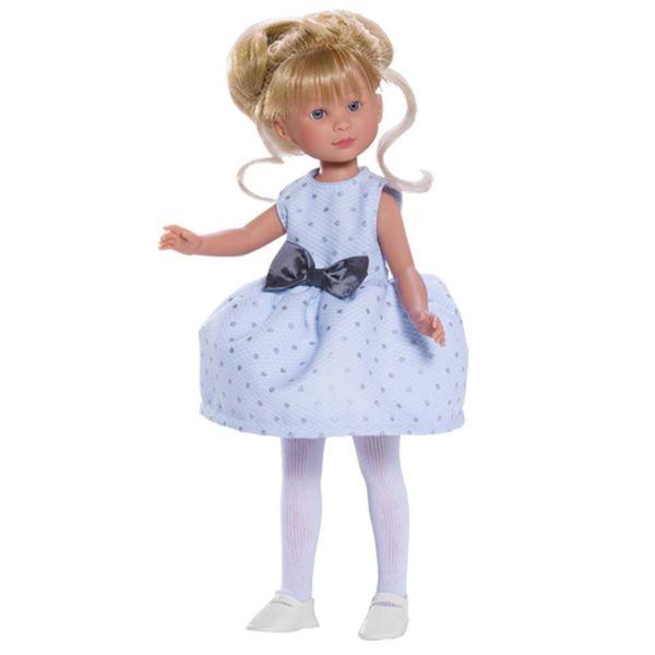 Кукла Силия със светлосиня рокля