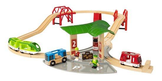Комплект влакова пътническа станция