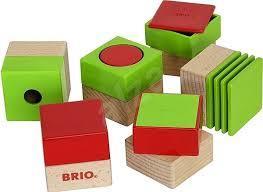 Дървени кубчета sensory pedagogic