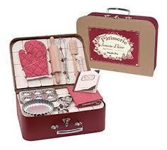 Комплект за готвене на сладкиши в куфар