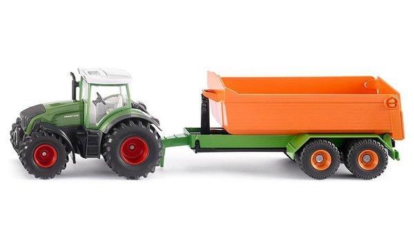Трактор с подвижно ремарке