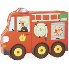 Дървен пъзел превозни средства