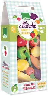 Играчка комплект - зеленчуци и плодове