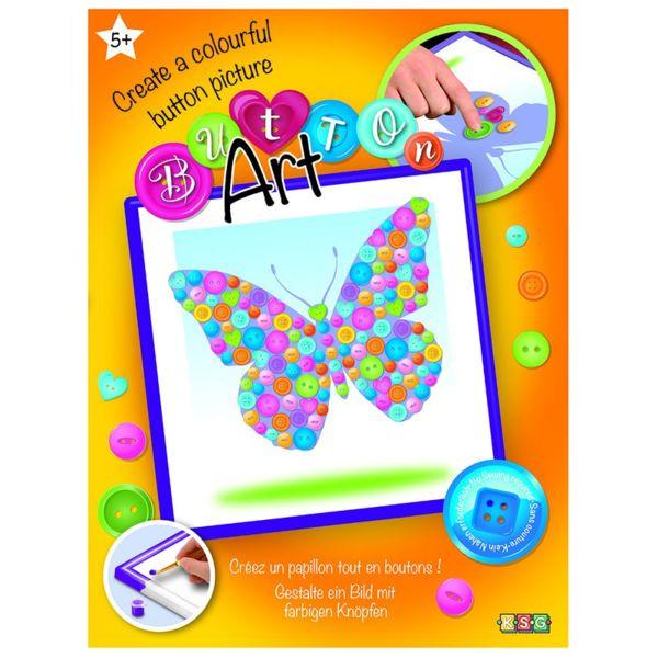 Изкуство с копчета - Пеперуда