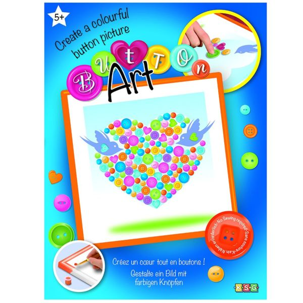Изкуство с копчета - Сърце