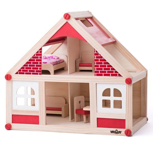 Къща за кукли с аксесоари - малка