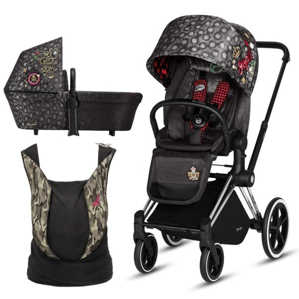 Cybex PRIAM REBELLIOUS 2в1 и YEMA BUTTERFLY
