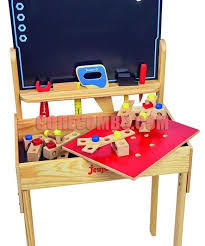 Дървена работна маса