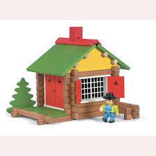 Дървен конструктор къща
