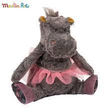 Mека играчка хипопотамче Camelia
