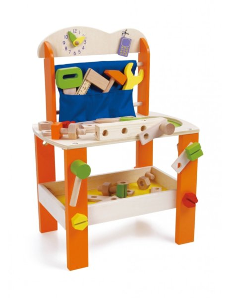 Детска работилница с инструменти