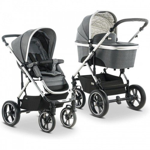 Бебешка  количка Nuova 2 в 1 - Anthrazit