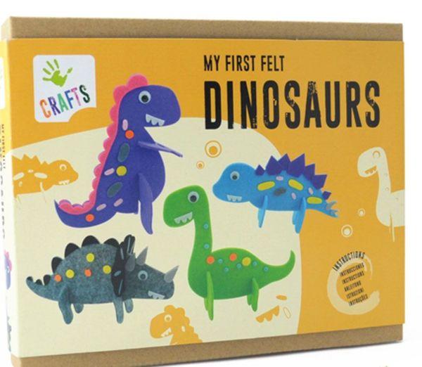 Направи и декорирай - Динозаври, 4 броя