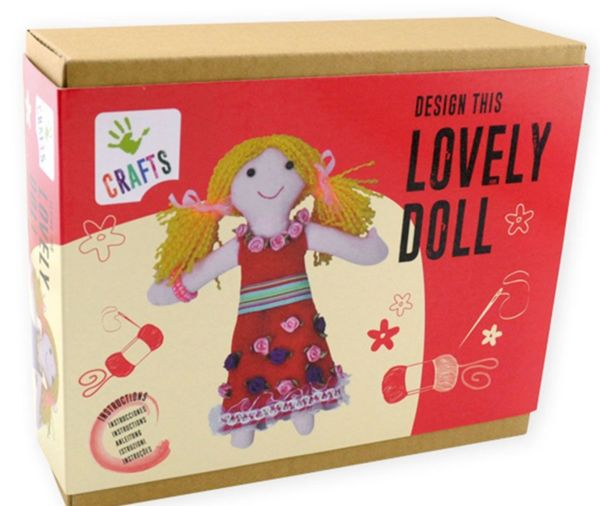 Направи сам - Парцалена кукла