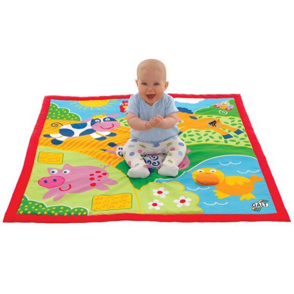 Голямо бебешко килимче - Ферма