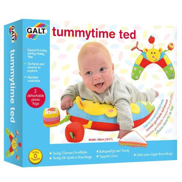 Бебешка възглавница за опора и игра - Мече