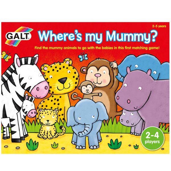Детска игра - Къде е мама?