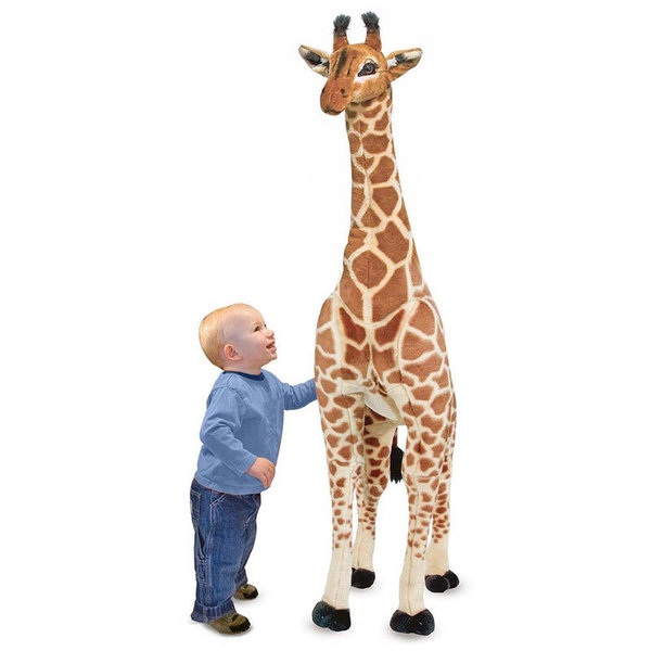Плюшен жираф