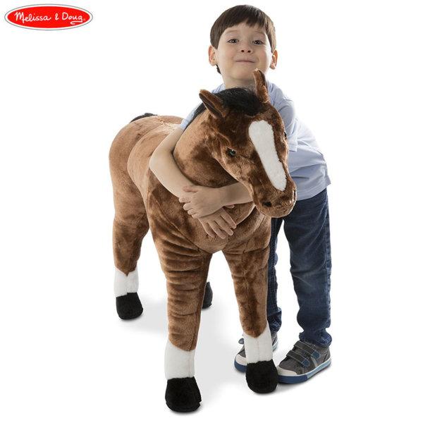 Голям плюшен кон