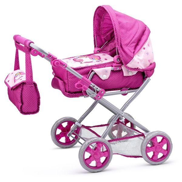 Детска количка за кукли - Еднорог