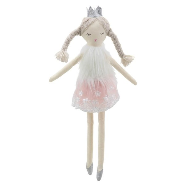 Парцалена кукла Балерина 45 см.