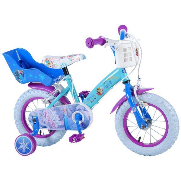 Детско колело с помощни колела Дисни Frozen - 12 инча