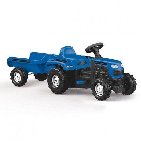 Трактор с ремарке - Син