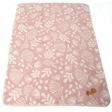 Бебешко бамбуково одеяло Panda - Розово Лъвче