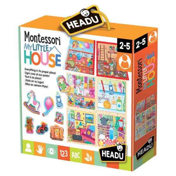 Комплект Моята малка къща - Монтесори