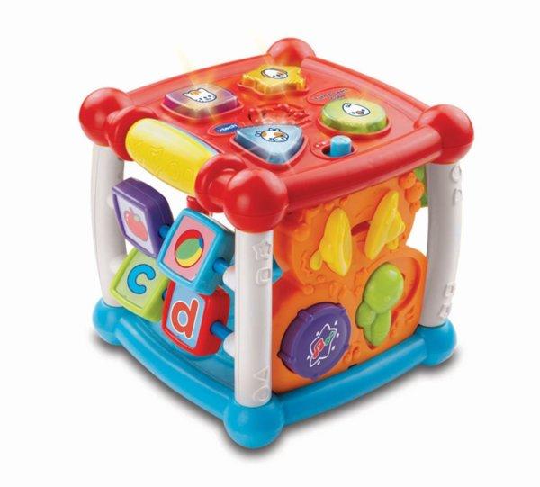 Занимателен куб – Подреди и научи