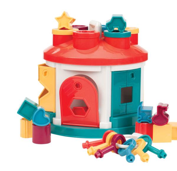 Сортиращ куб – Къща