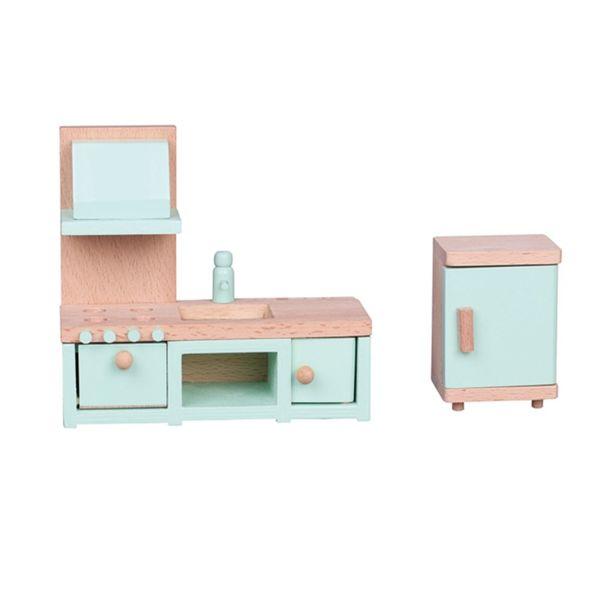 Дървени мебели - Кухня