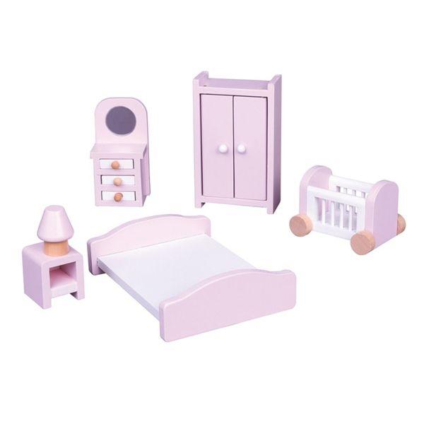 Дървени мебели за игра - Спалня