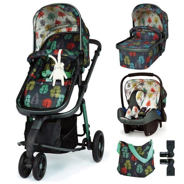 Бебешка количка 3 в 1 Giggle 3 - Hare Wood