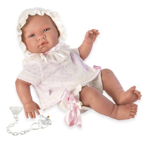 Кукла-бебе Мария с плетени дрехи