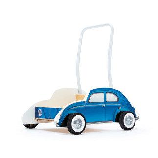 Дървена количка за прохождане - Син Бийтъл