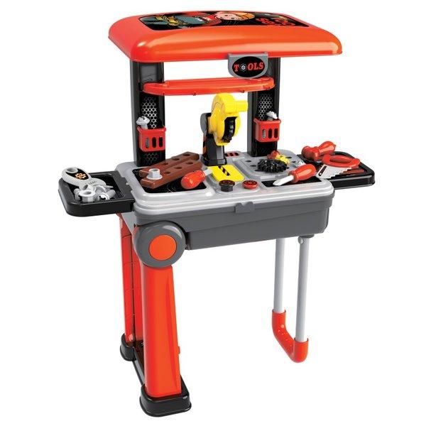 Детска работилница Deluxe tool set, Куфар