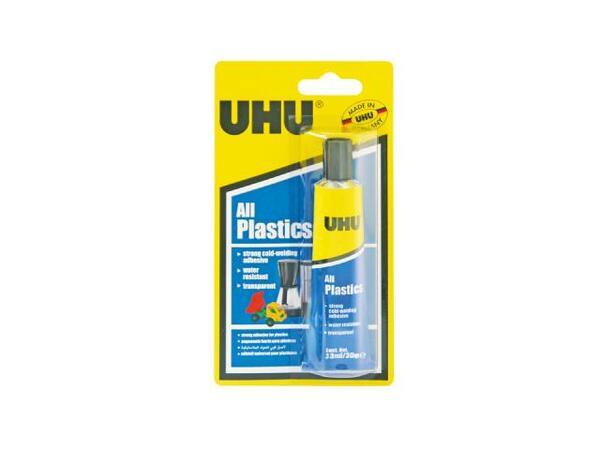 Лепило универсално за пластмаса 30 г, блистер UHU