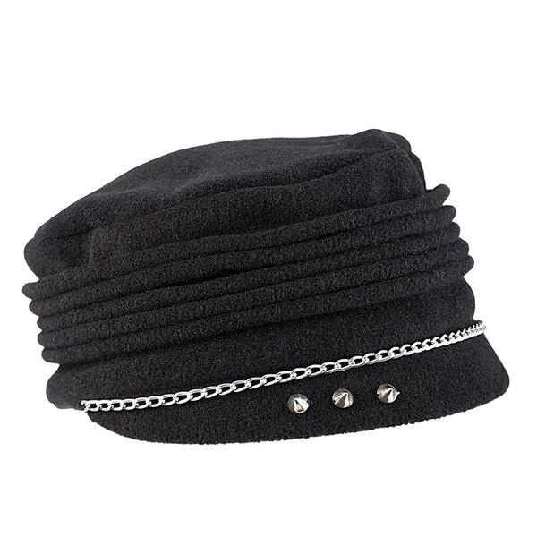Зимна шапка каскет за жени 670100