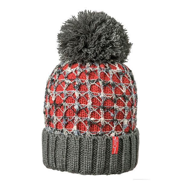 Зимна шапка с плетена дантела 640264