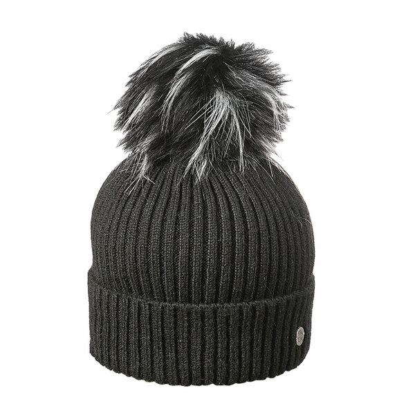 Зимна спортна шапка с помпон 670053