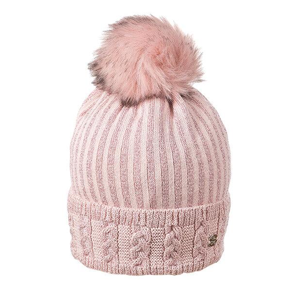 Дамска зимна шапка с ламе 630008